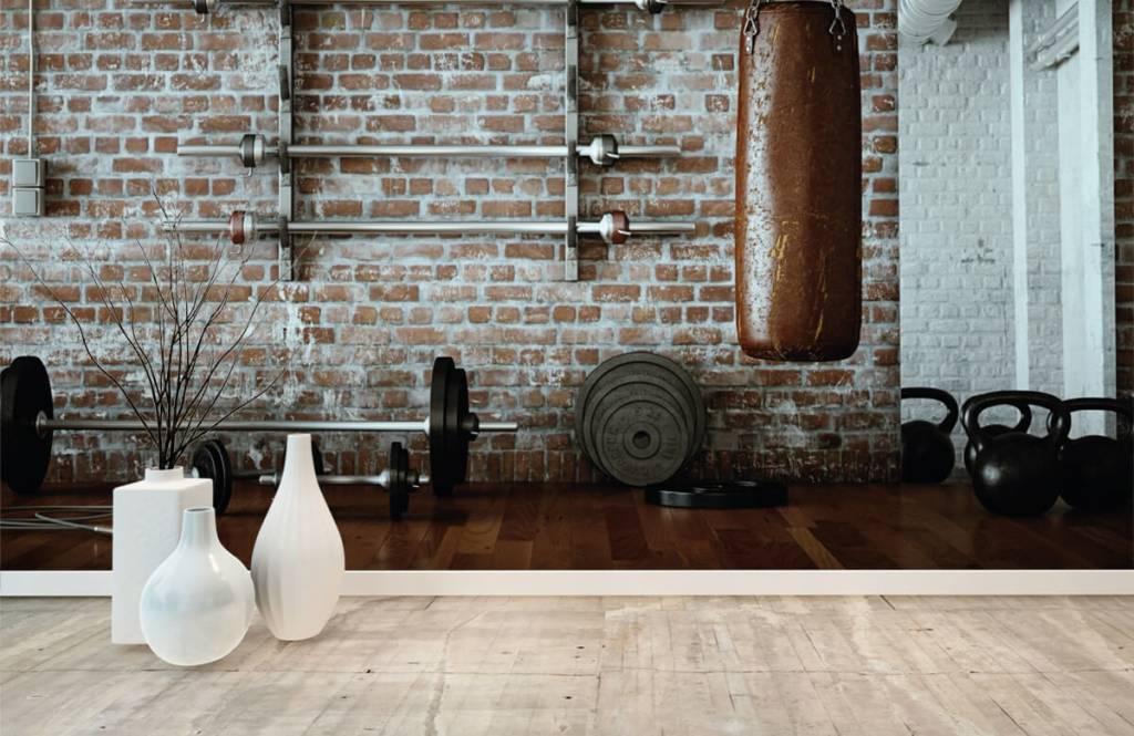 Fitness - Vintage sportschool items - Hobbykamer 8