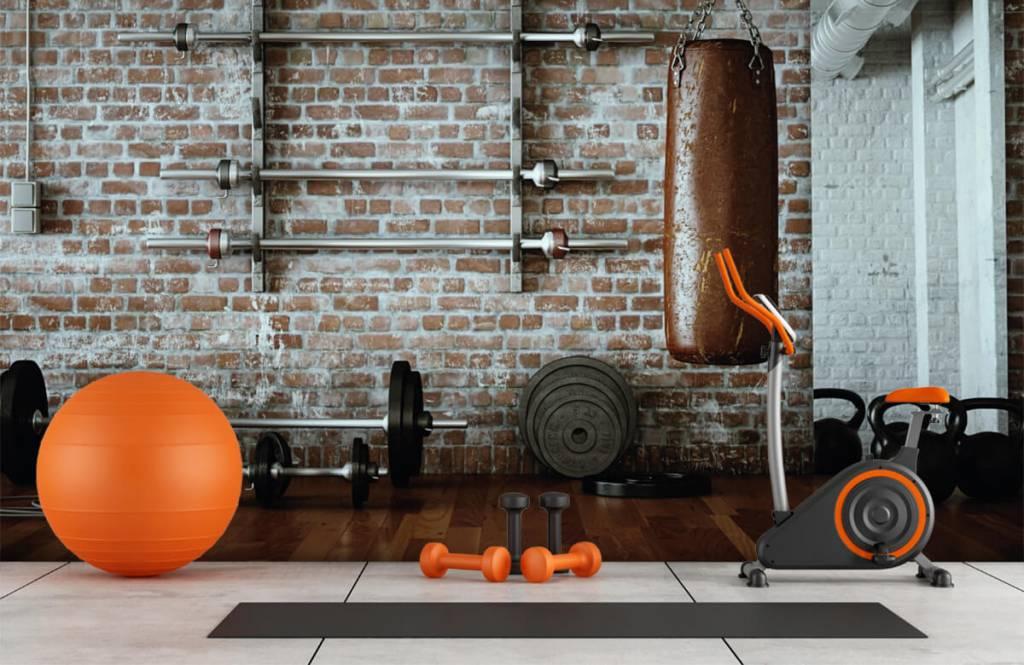 Fitness - Vintage sportschool items - Hobbykamer 9