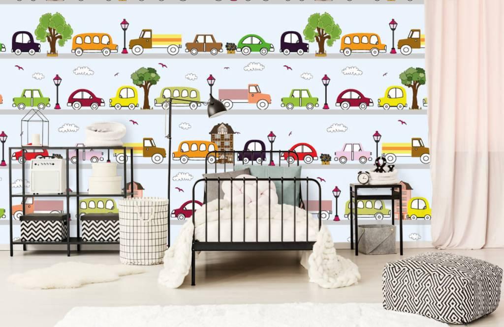 Baby behang - Voertuigen - Babykamer 3