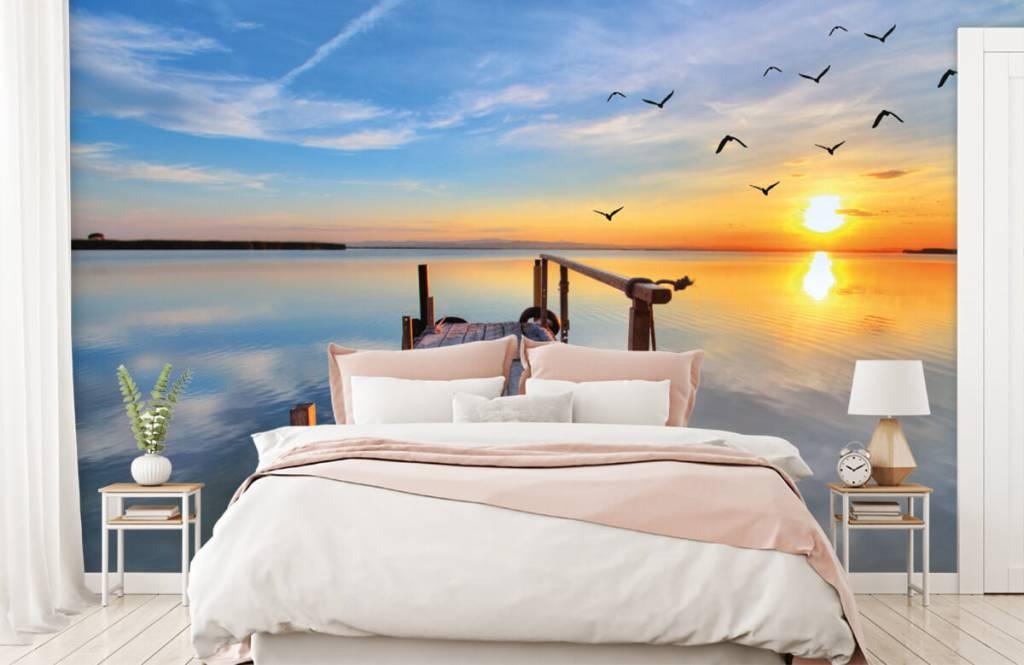 Meertjes en Wateren - Vogels boven zee - Slaapkamer 2