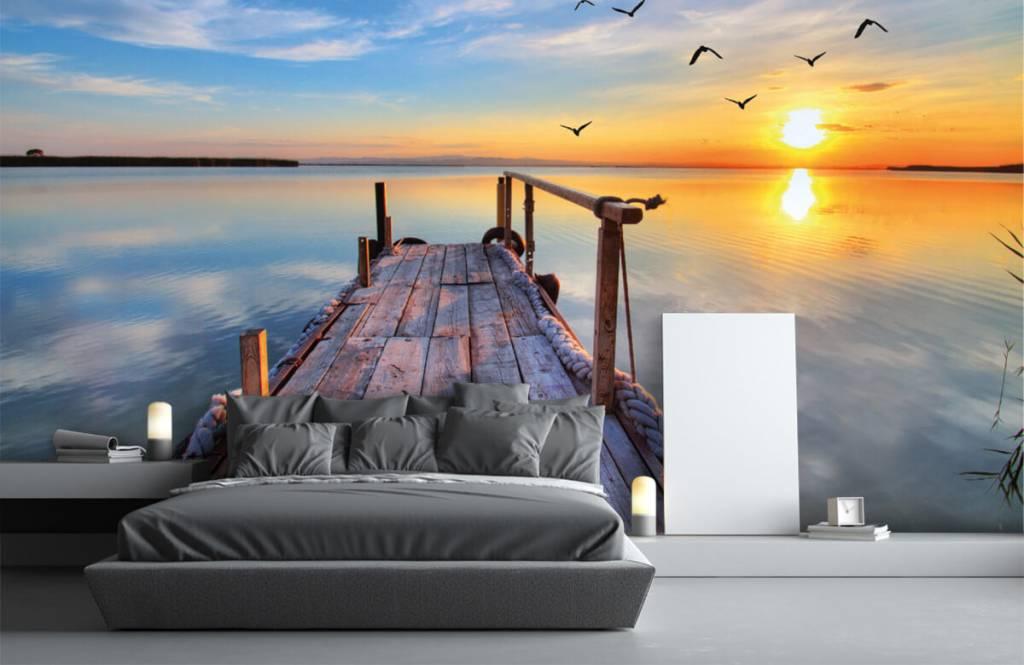 Meertjes en Wateren - Vogels boven zee - Slaapkamer 3
