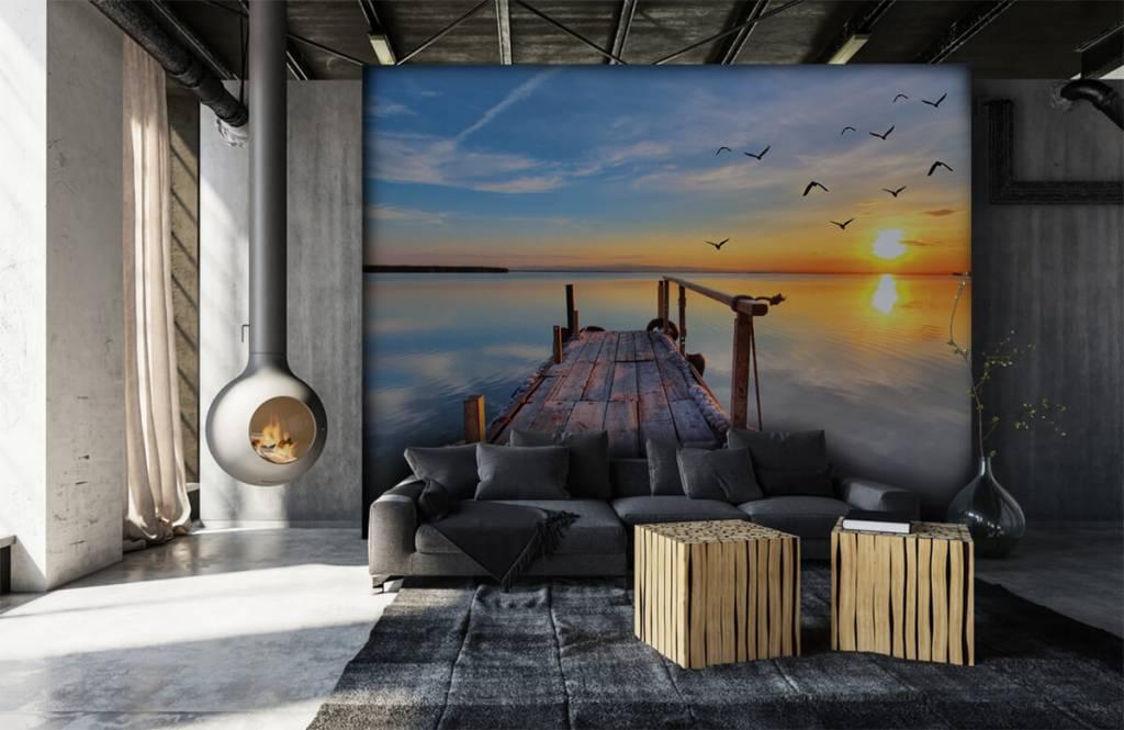 Meertjes en Wateren - Vogels boven zee - Slaapkamer 7