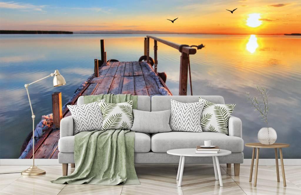 Meertjes en Wateren - Vogels boven zee - Slaapkamer 8