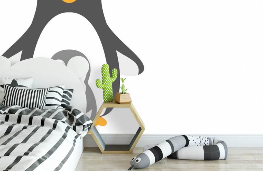 Fotobehang Vrolijke pinguins
