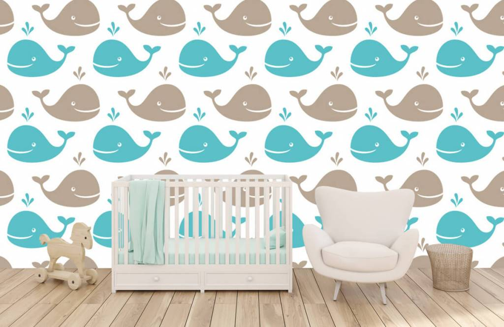 Zeedieren - Walvisjes - Kinderkamer 1