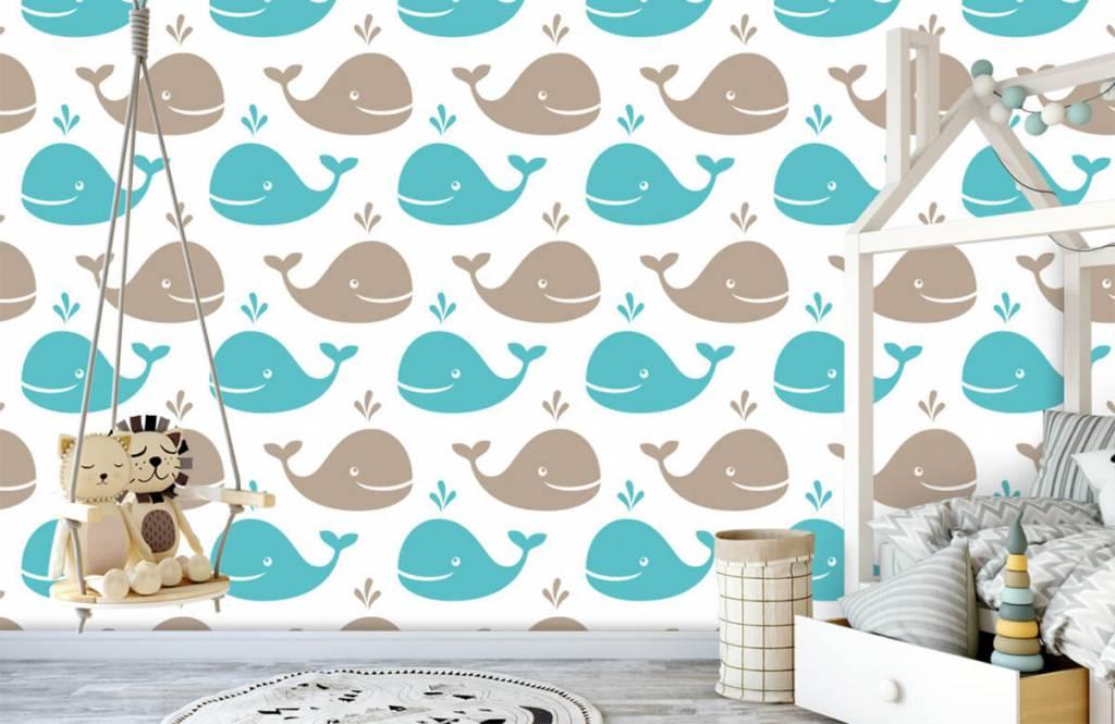 Zeedieren - Walvisjes - Kinderkamer 4