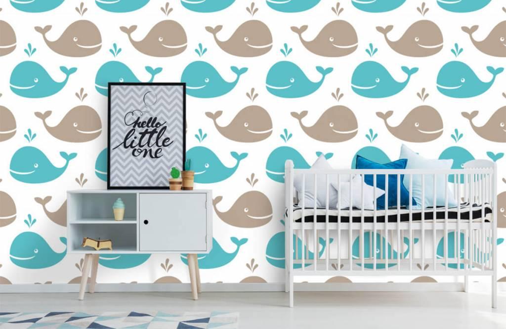 Zeedieren - Walvisjes - Kinderkamer 6