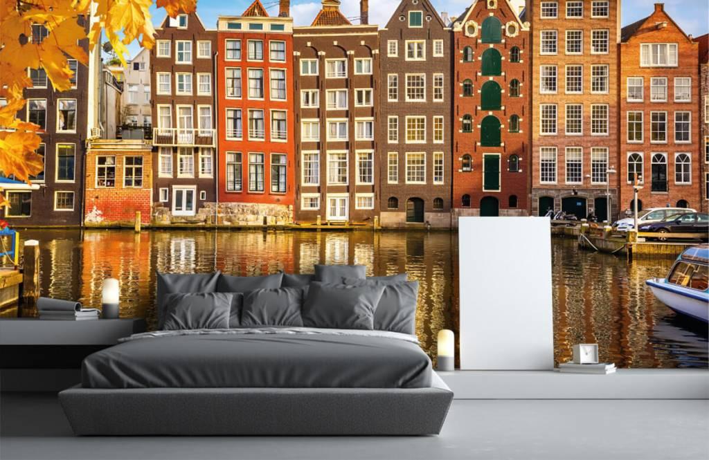Steden behang - Amsterdam - Slaapkamer 2