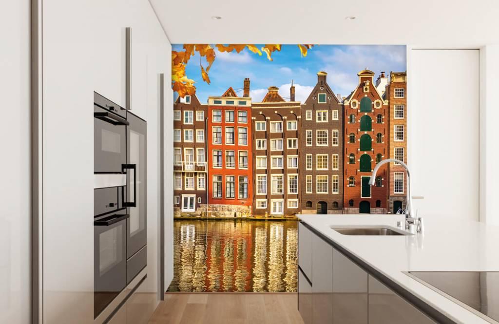 Steden behang - Amsterdam - Slaapkamer 3