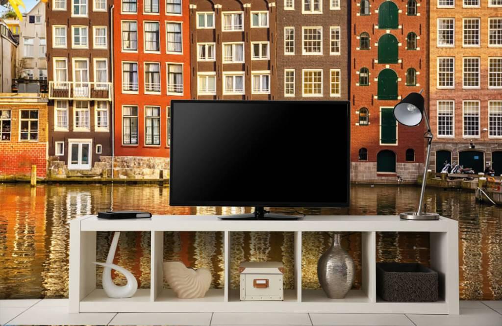 Steden behang - Amsterdam - Slaapkamer 4
