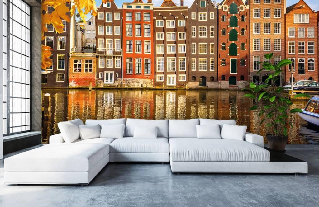 Steden behang - Amsterdam - Slaapkamer 5