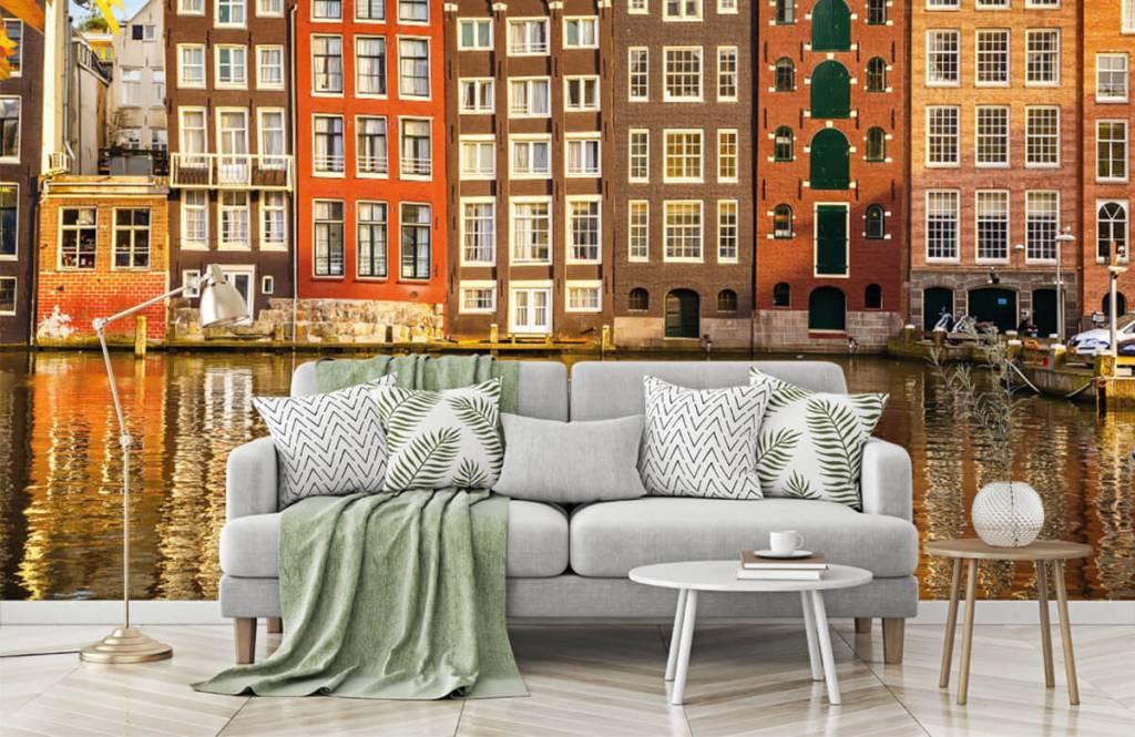 Steden behang - Amsterdam - Slaapkamer 7