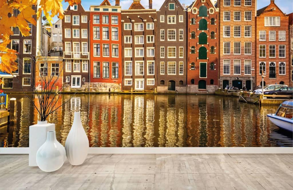 Steden behang - Amsterdam - Slaapkamer 8