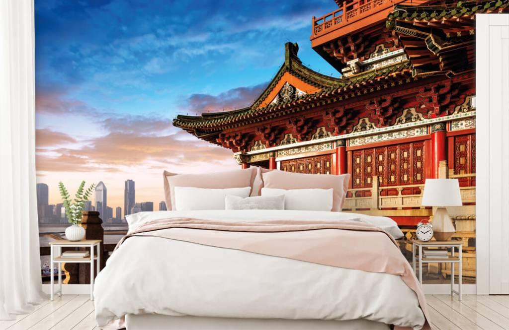 Steden behang - China - Slaapkamer 2