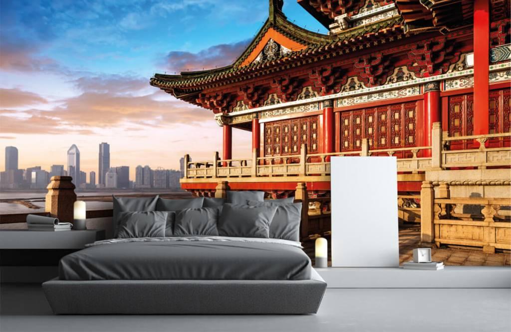 Steden behang - China - Slaapkamer 3