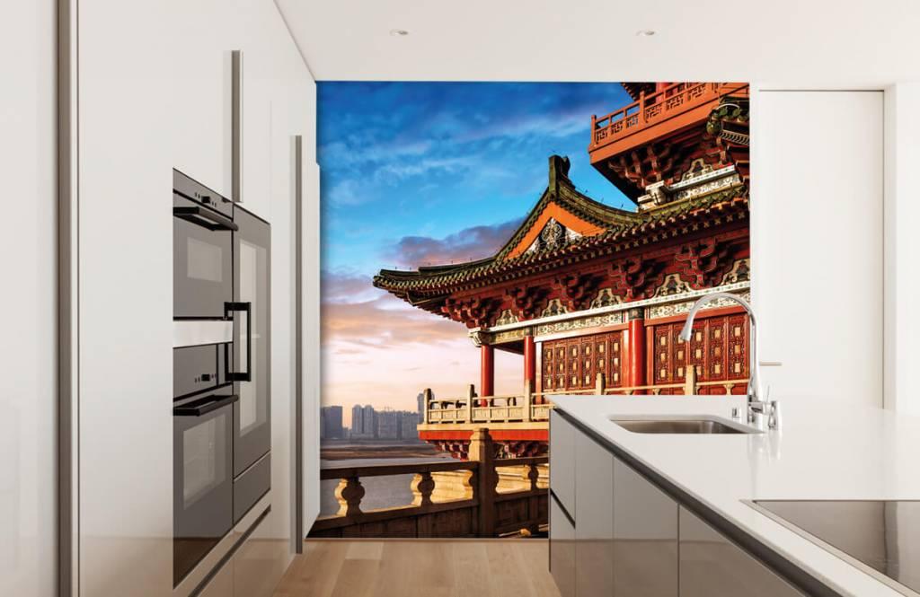 Steden behang - China - Slaapkamer 4
