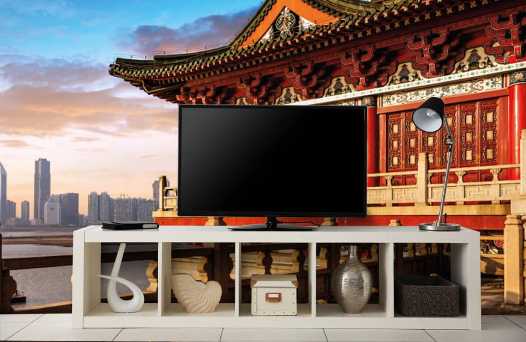 Steden behang - China - Slaapkamer 5