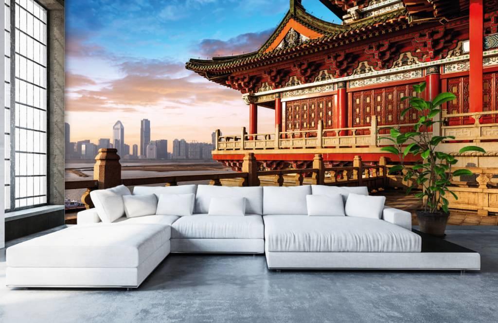 Steden behang - China - Slaapkamer 6