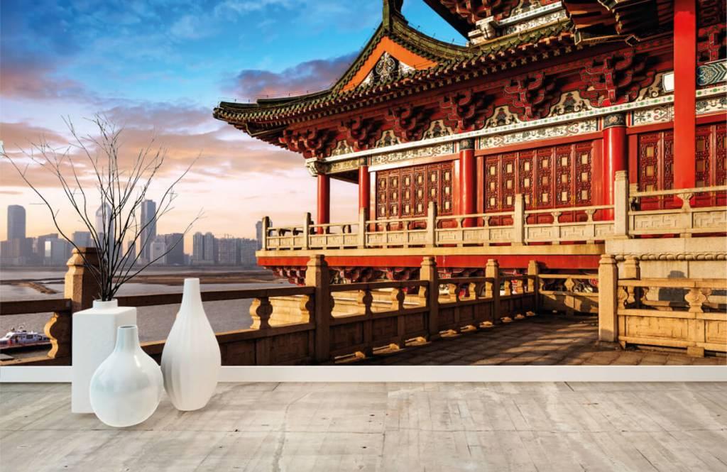 Steden behang - China - Slaapkamer 8
