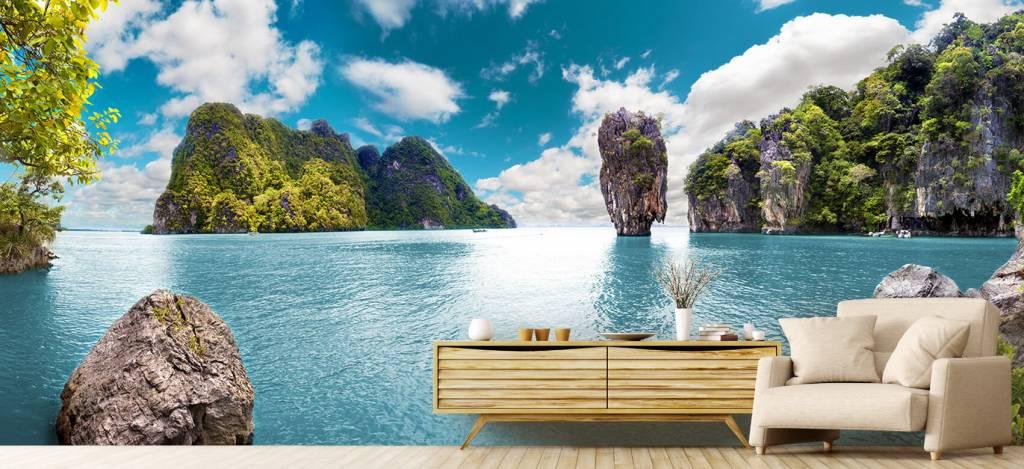 Zeeën en Oceanen - Phuket eilanden in Thailand - Kantoor 5