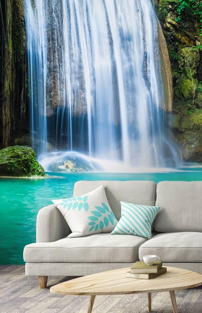 Watervallen - Blauwe waterval - Computerruimte 1