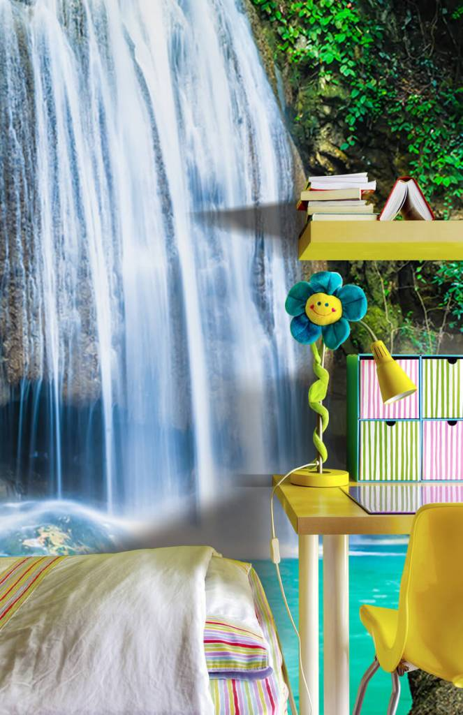 Watervallen - Blauwe waterval - Computerruimte 4