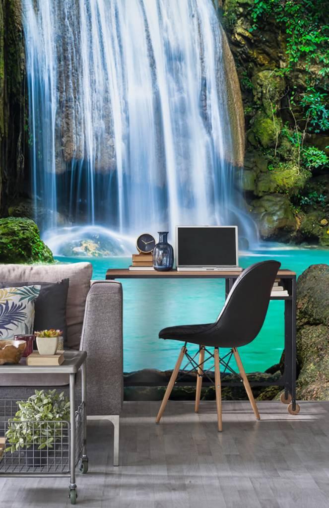 Watervallen - Blauwe waterval - Computerruimte 5