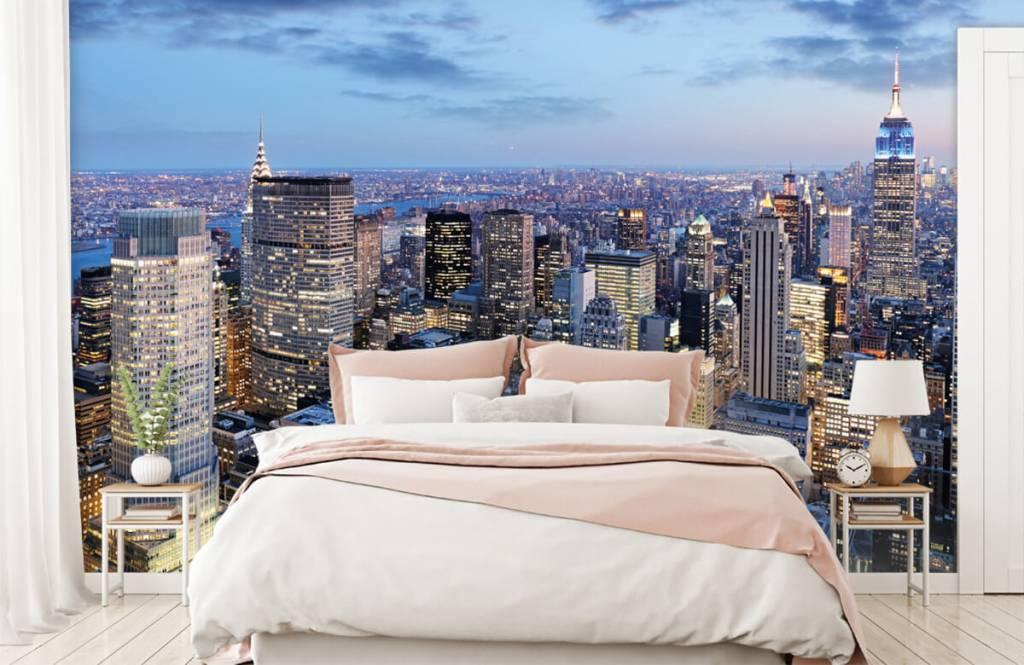 Steden behang - New York - Tienerkamer 2