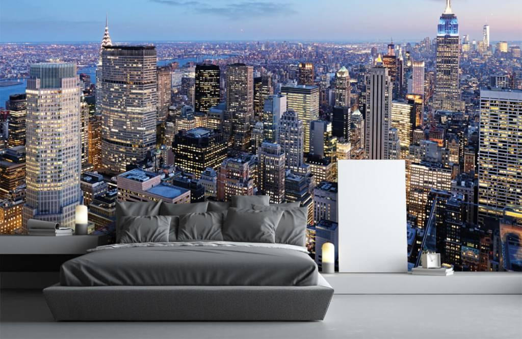Steden behang - New York - Tienerkamer 3
