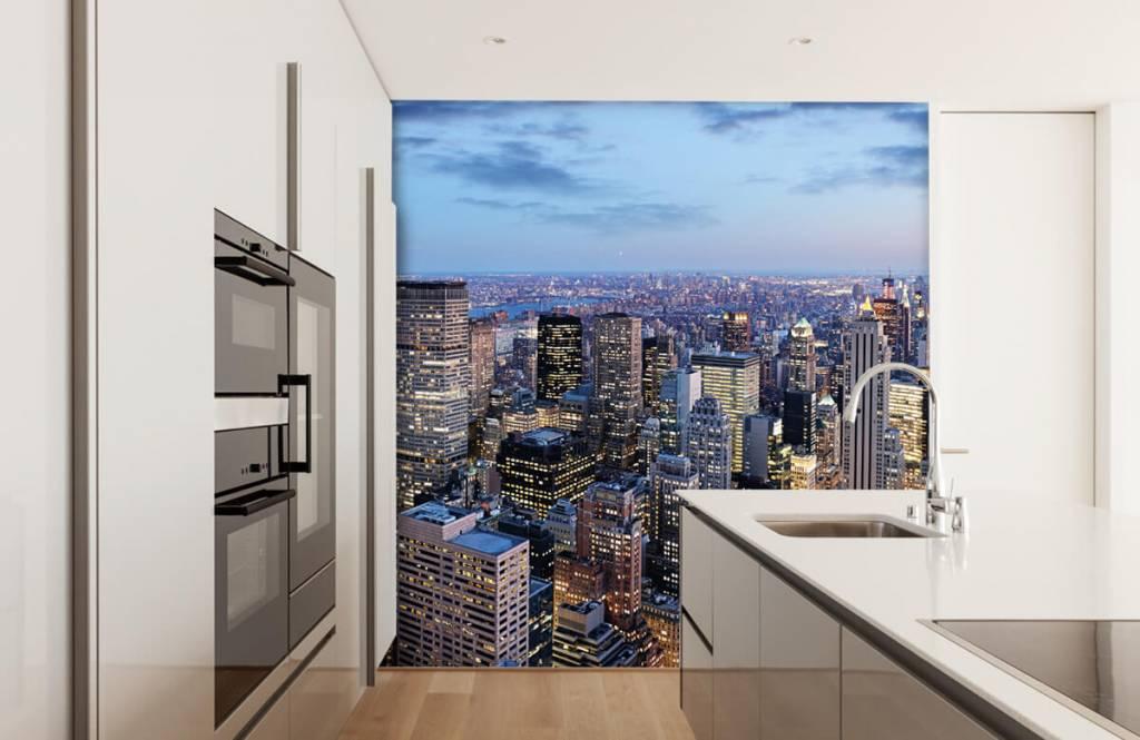 Steden behang - New York - Tienerkamer 4