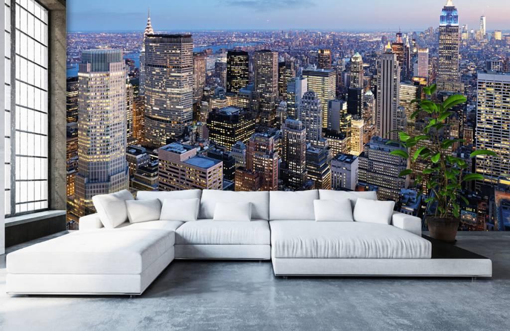 Steden behang - New York - Tienerkamer 5