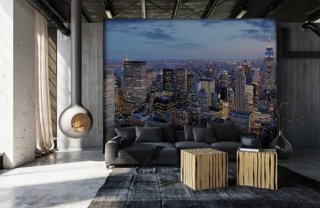 Steden behang - New York - Tienerkamer 6