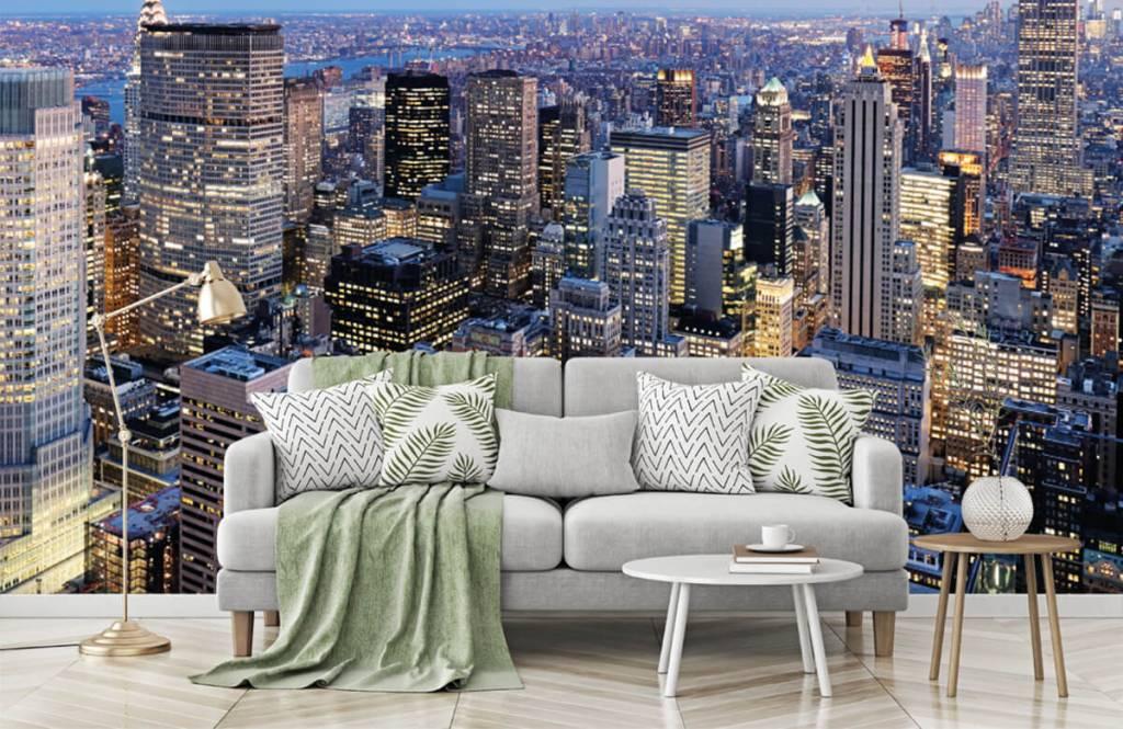 Steden behang - New York - Tienerkamer 7