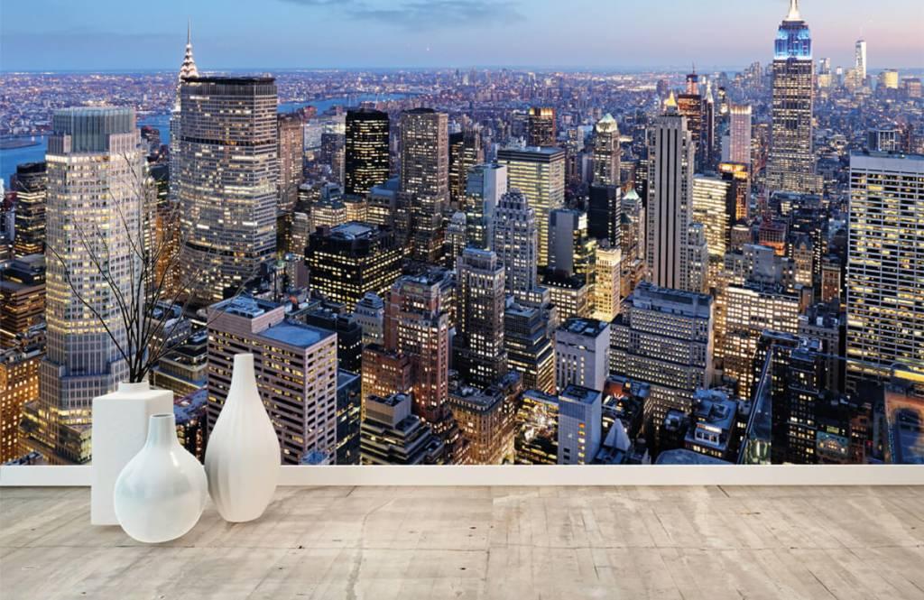 Steden behang - New York - Tienerkamer 8