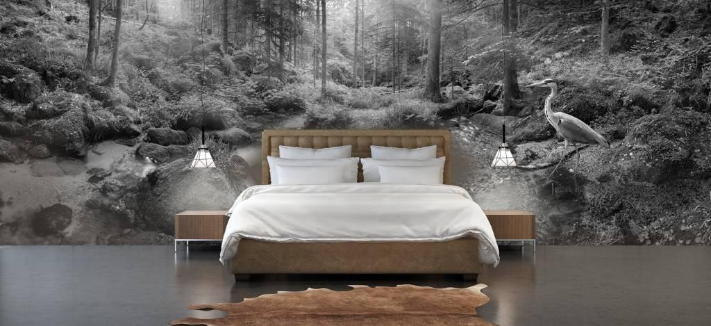 Bos behang - Betoverend boslandschap - Hobbykamer 3