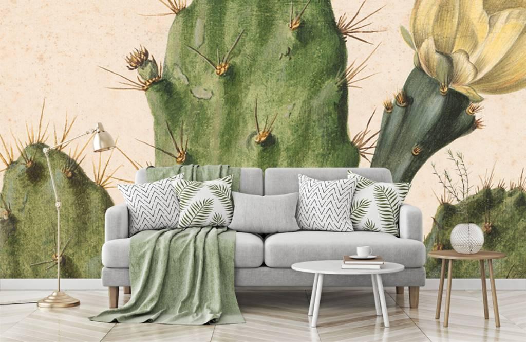 Overige - Bloeiende vijgcactus - Woonkamer 3