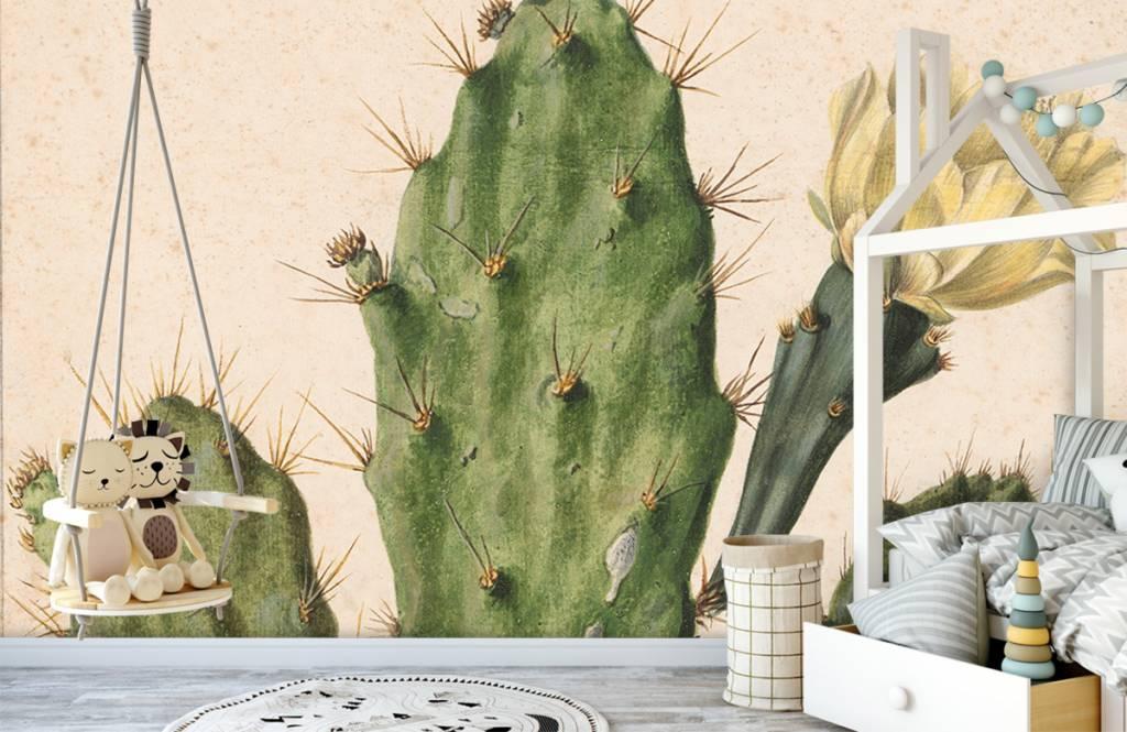 Overige - Bloeiende vijgcactus - Woonkamer 5