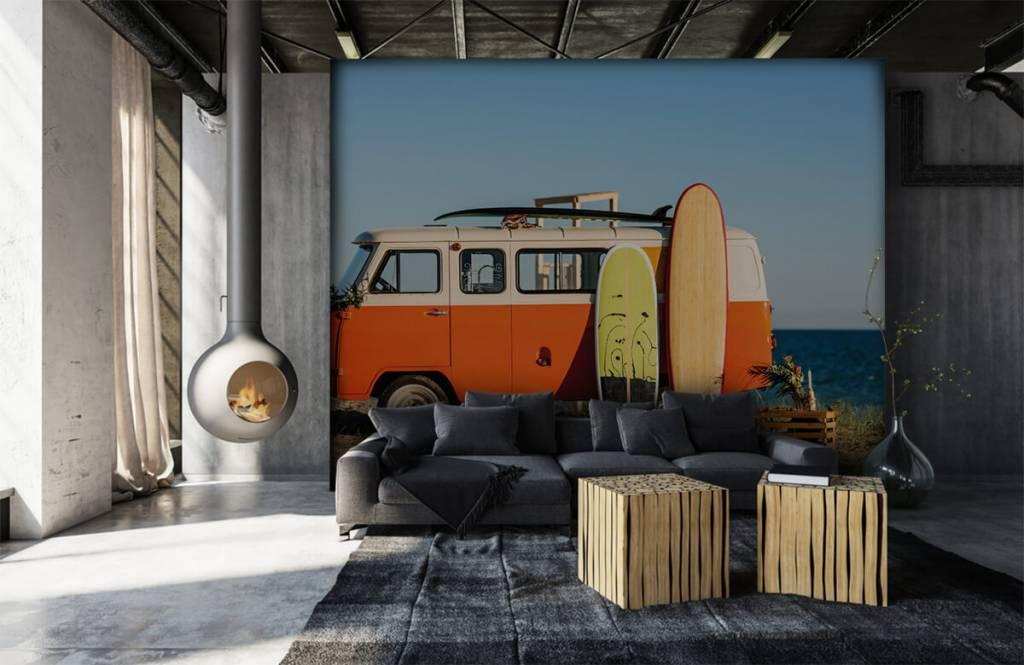 Transport - Bus met surfplank - Kantine 1