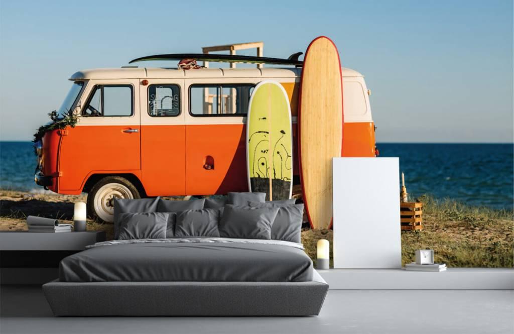Transport - Bus met surfplank - Kantine 3
