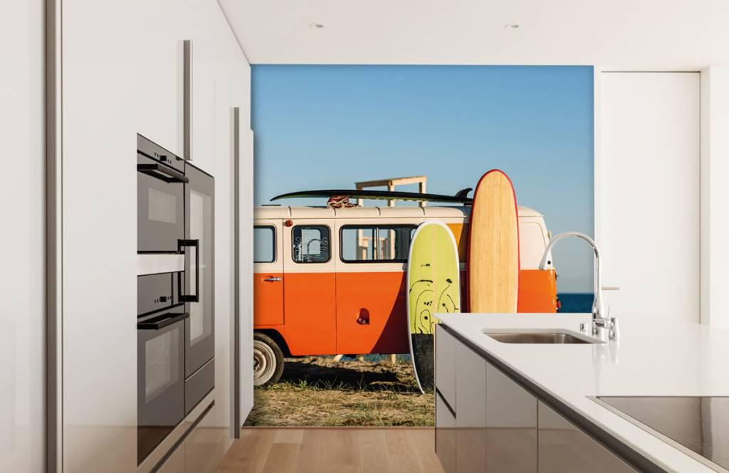 Transport - Bus met surfplank - Kantine 4