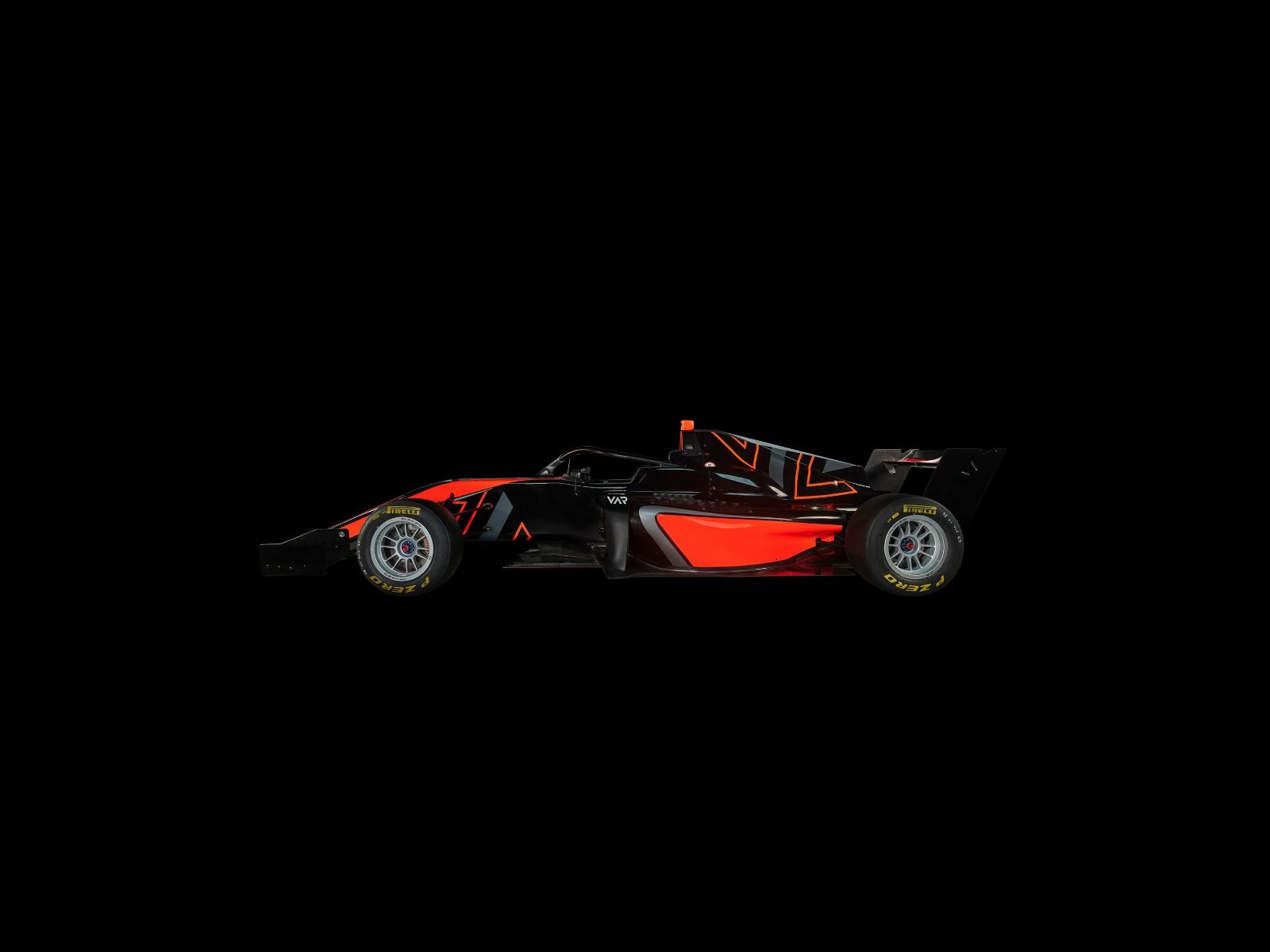 Sportauto's - Formule 3 - Lower side view - dark - Tienerkamer