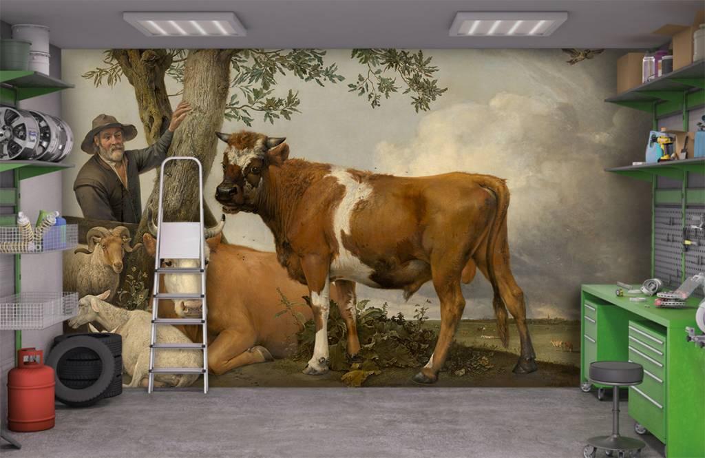 Koeien - De stier - Keuken 1