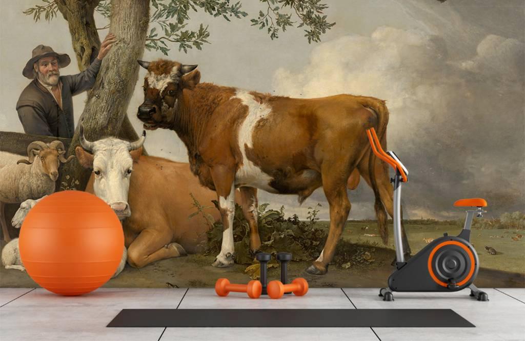 Koeien - De stier - Keuken 2