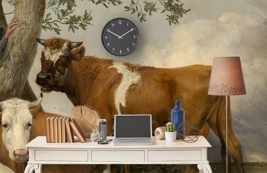 Koeien - De stier - Keuken 3