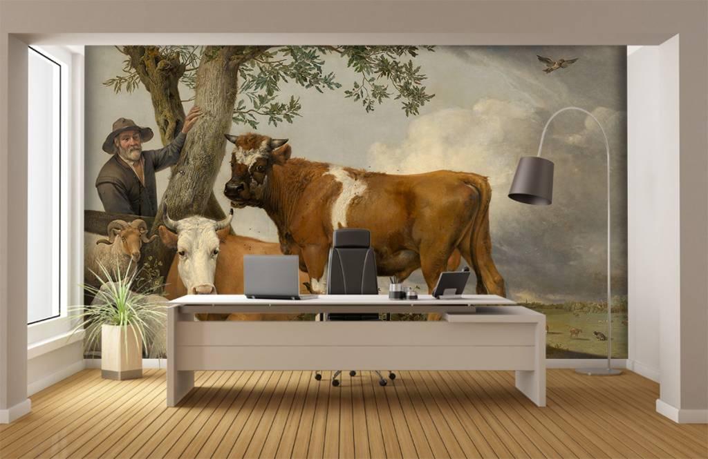 Koeien - De stier - Keuken 4
