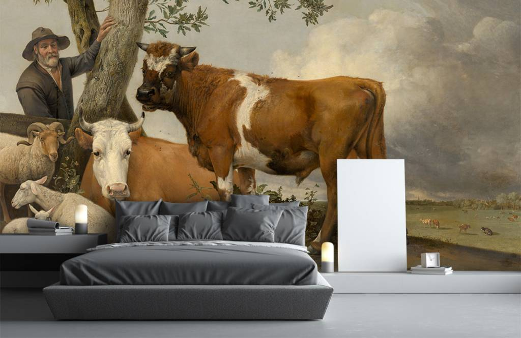 Koeien - De stier - Keuken 6