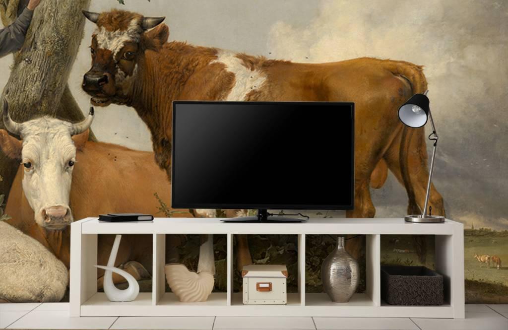 Koeien - De stier - Keuken 7