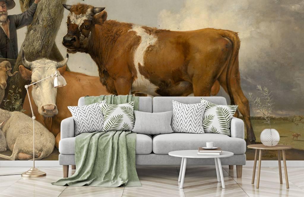 Koeien - De stier - Keuken 9