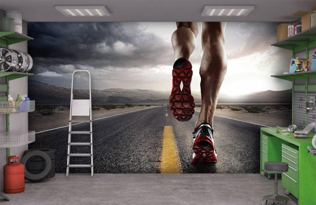 Sport en Fitness - Benen van een renner - Garage 1