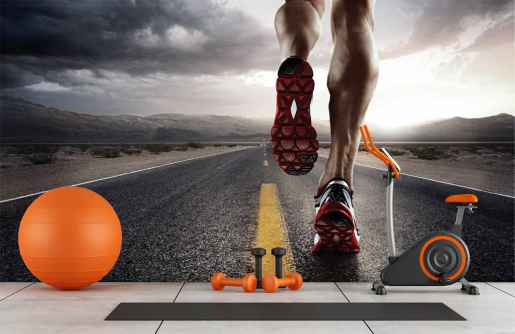 Sport en Fitness - Benen van een renner - Garage 2